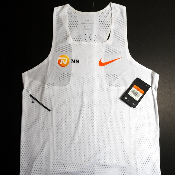 info for d79ea 383d6 Nike Pro Elite NN Running Mens Aeroswift Singlet NWT